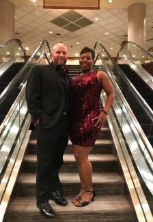 2018 NYE Photo with my beau!